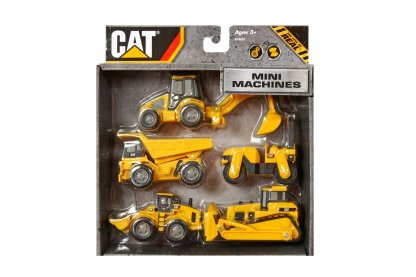 CAT Mini Machine 5 Pack