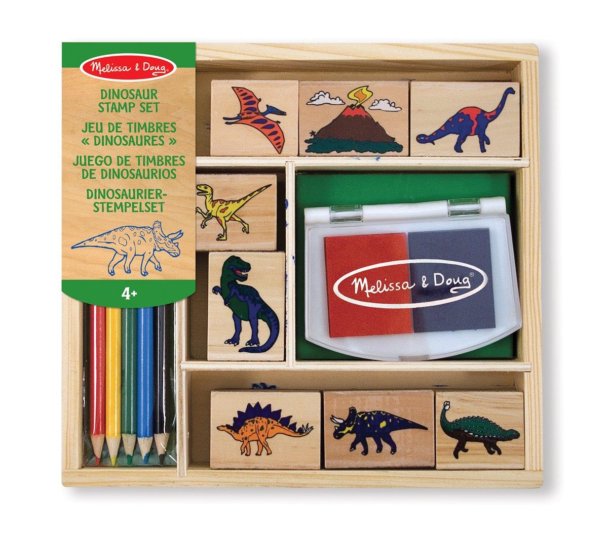 dinosaur stamp set, amazon