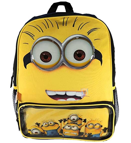 Despicable Me 2 Kids Backpack Gru's Minions