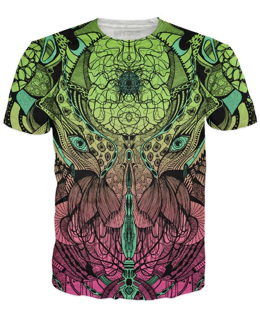 Intricate Design Aliens T-Shirt