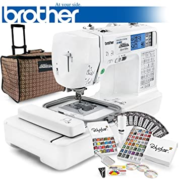Brother LB-6800PRW Embroidery Machine of the Year 2016 - Review