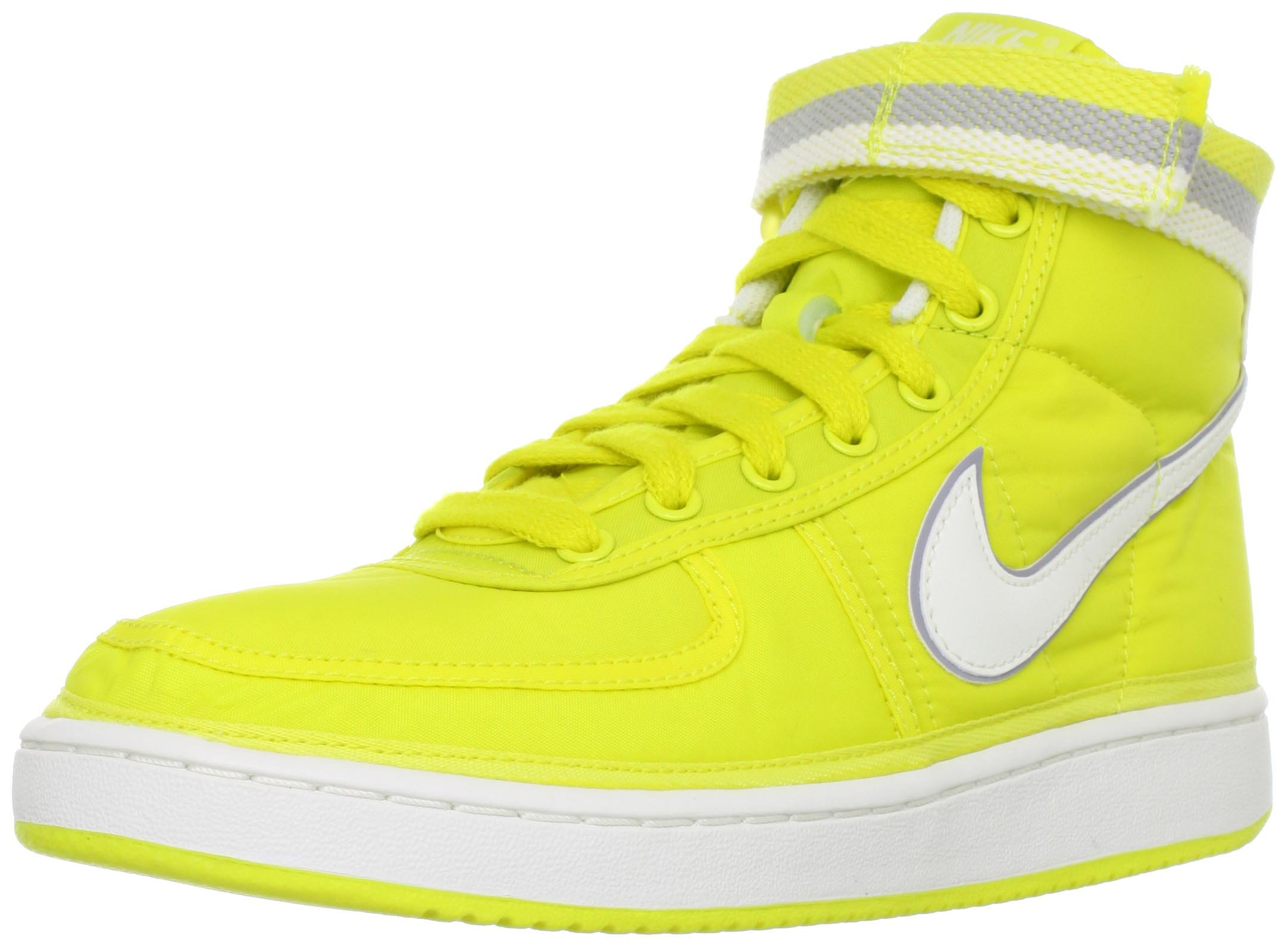 Nike Trainers Mens Vandal Supreme High Vintage Sonic Yellow