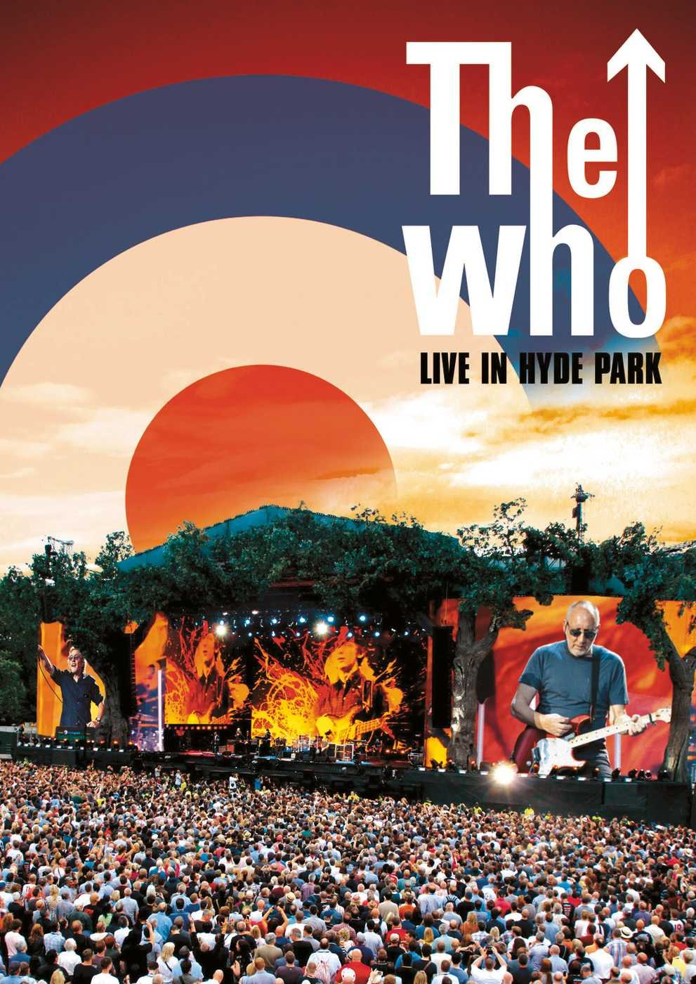 THE WHO Live In Hyde Park - DVD