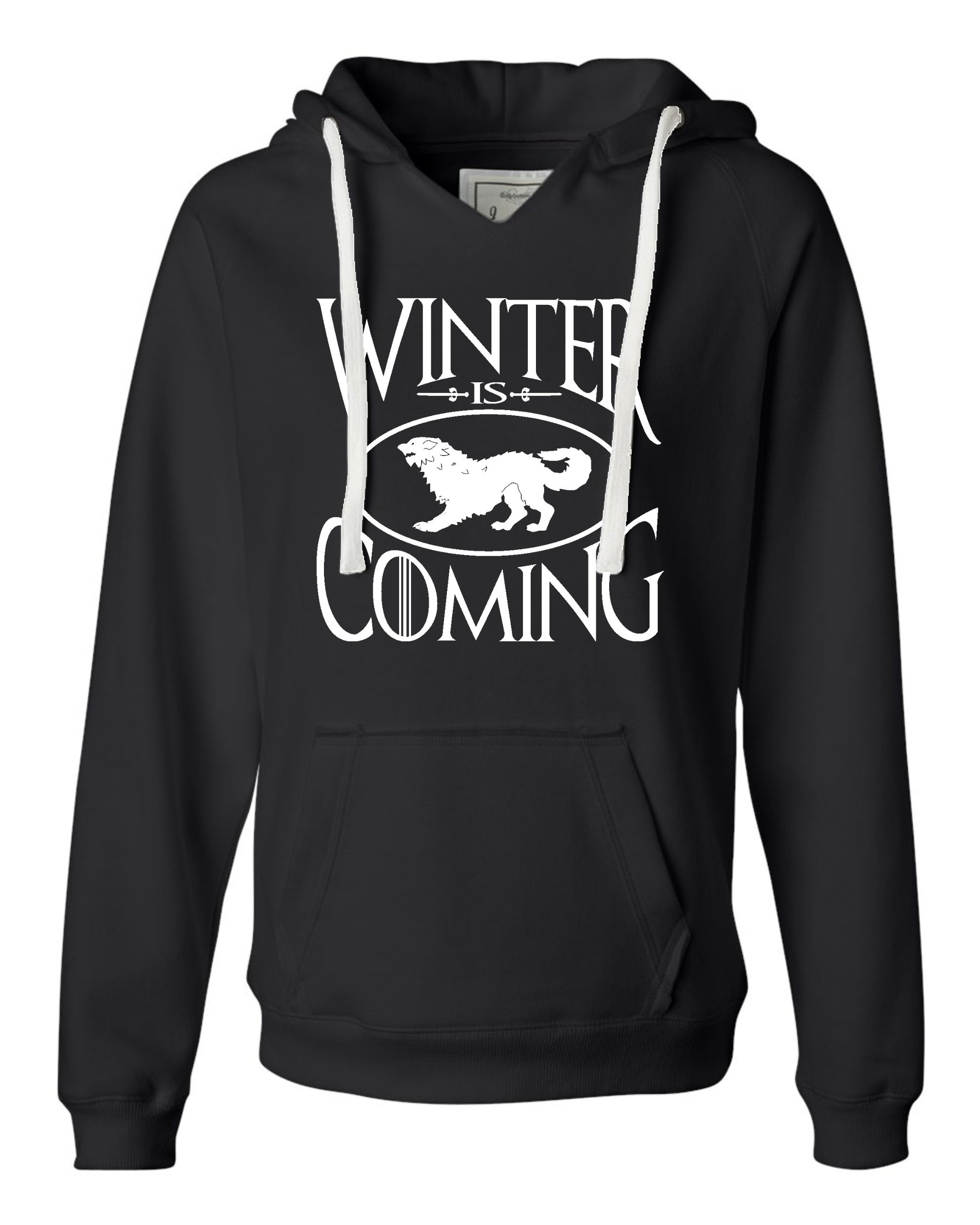 Winter Is Coming Deluxe Soft Hoodie