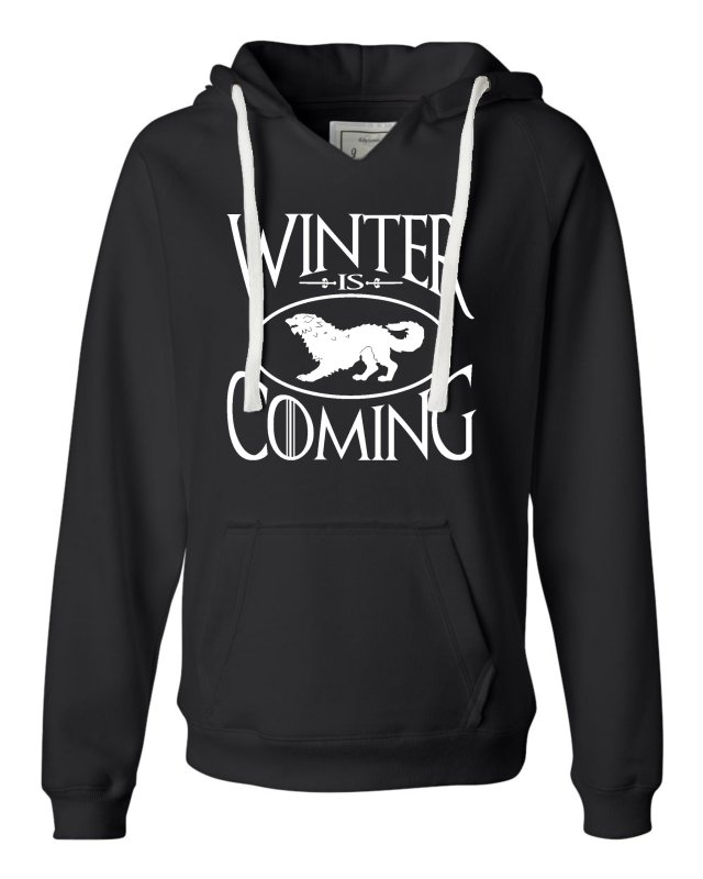 Winter Is Coming Deluxe Soft Hoodie