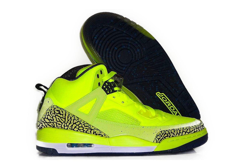 Jordan Spizike BHM Volt/Black 579593 712 Size 14
