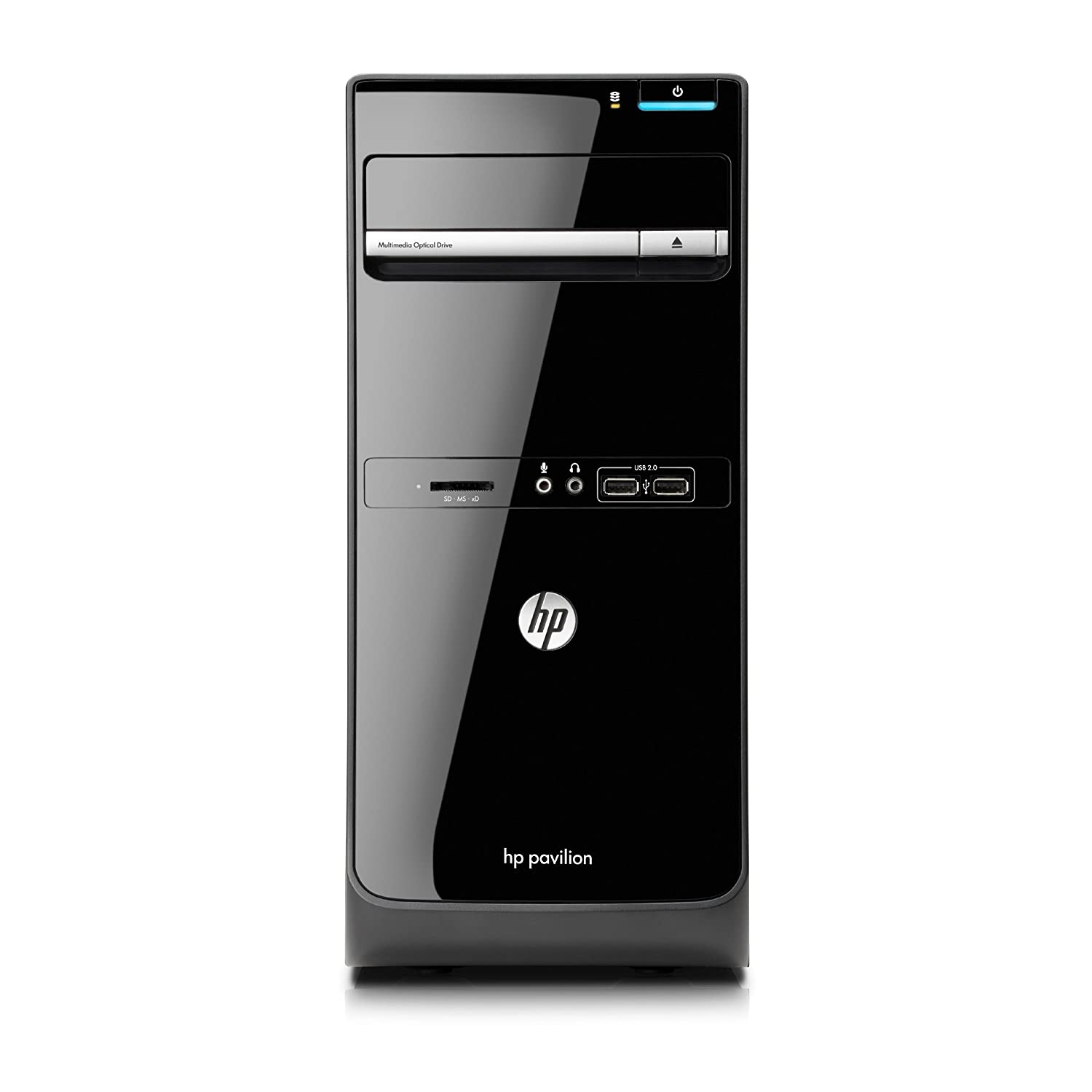 HP Pavilion p6-2350 Desktop (Black)