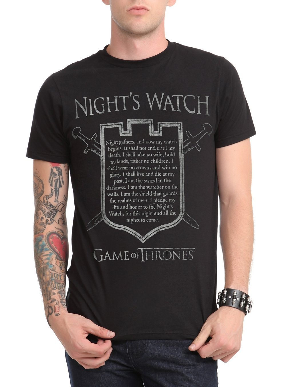 Game Of Thrones Night's Watch Oath T-Shirt