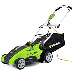 GreenWorks 25142 10 Amp Corded 16-Inch Lawn Mowers review