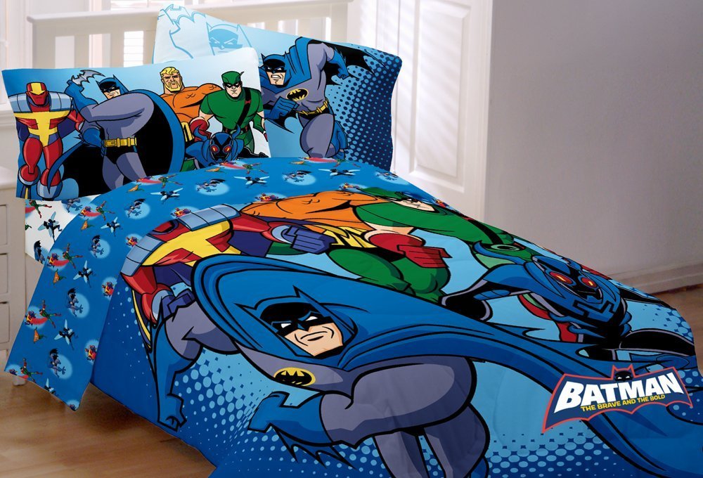 Batman Power Vision Twin Comforter