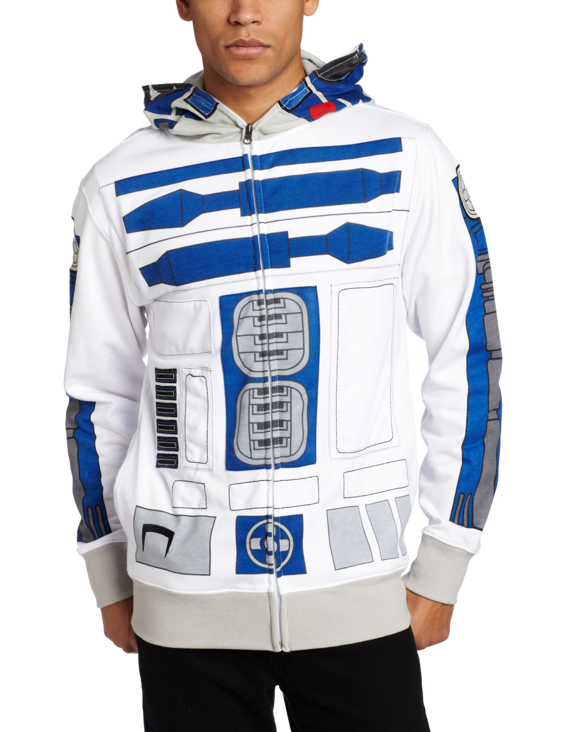 Star Wars I Am R2-D2 Costume Hoodie Sweatshirt