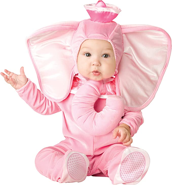InCharacter Costumes Baby's Pink Elephant Costume, Pink, Small