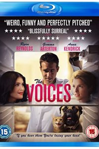 Cover art for the 2015 Arrow Films Blu-ray release of The Voices