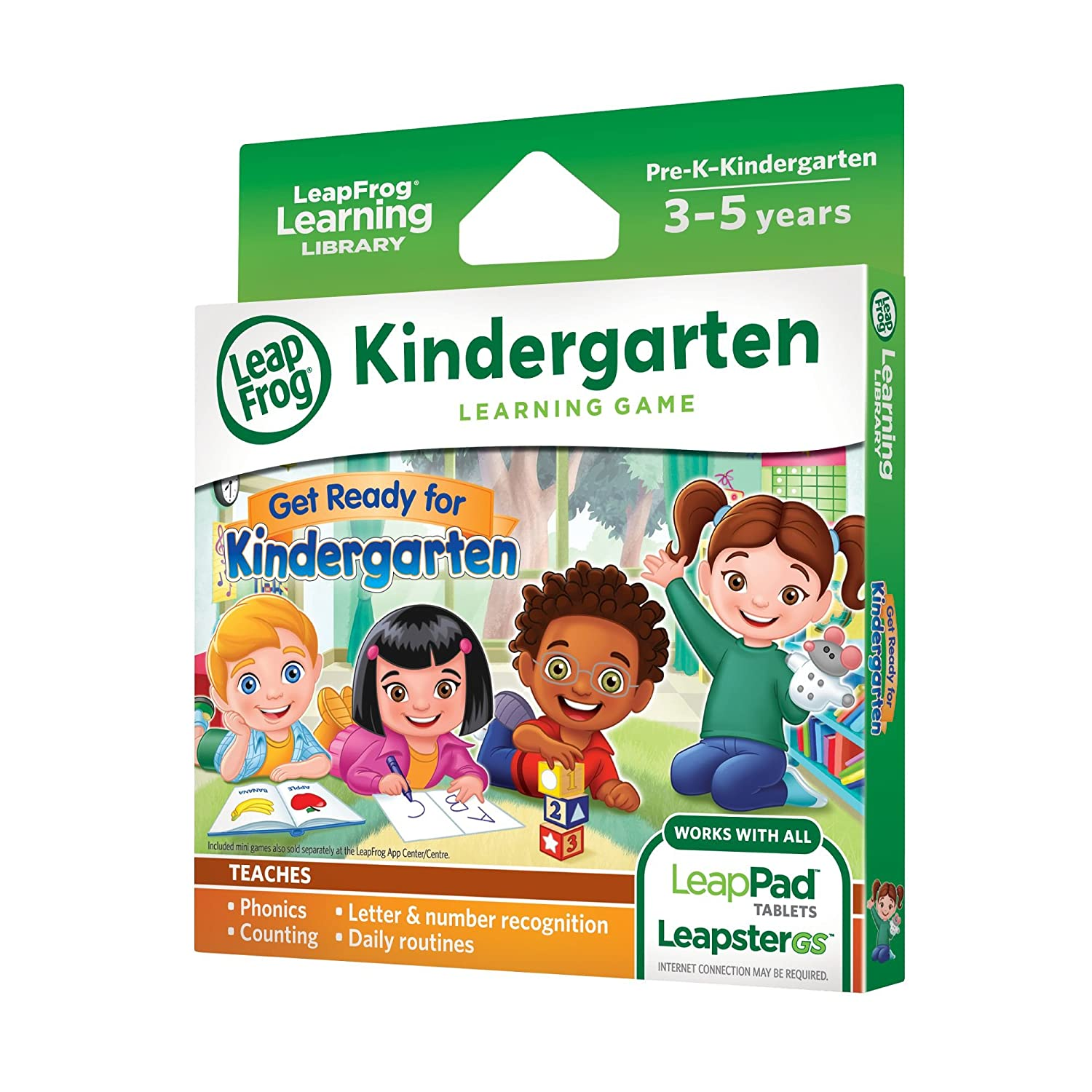 Leapfrog Learning Game Get Ready For Kindergarten For Leappad Tablets And Leap