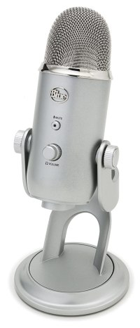 Amazon: Blue Microphones Yeti USB Microphone - Silver