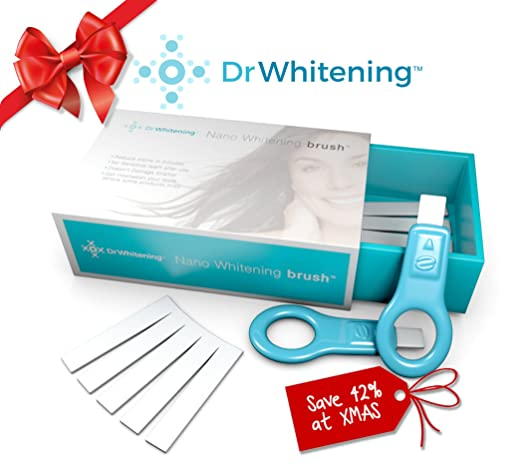 Dr Whitening Natural Teeth Whitening kit system, Remove Surface Stains In MINUTES, saving yourself from embarrassing looking tooth stains. Feel confident smiling and feel happy with Clean, Whiter teeth. It's an enamel safe tooth whitener. Dentist Recommended