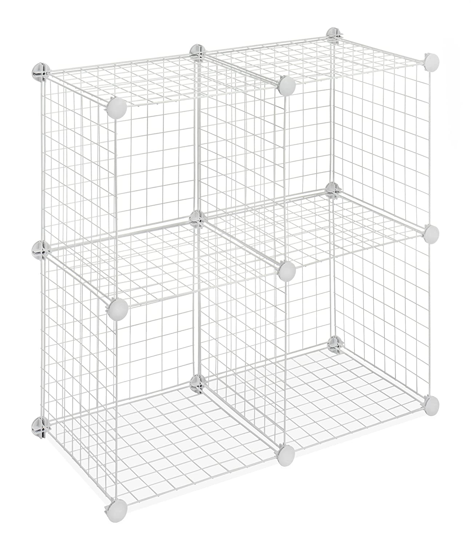 Craft Room Organization Pvc And Wire Shelf Paint Storage