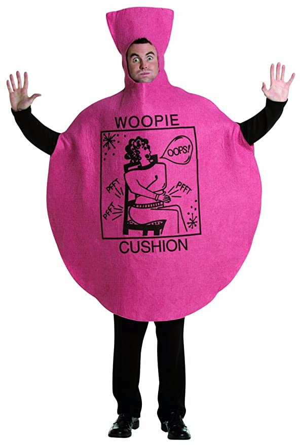 Rasta Imposta Woopie Cushion Costume, Pink, One Size