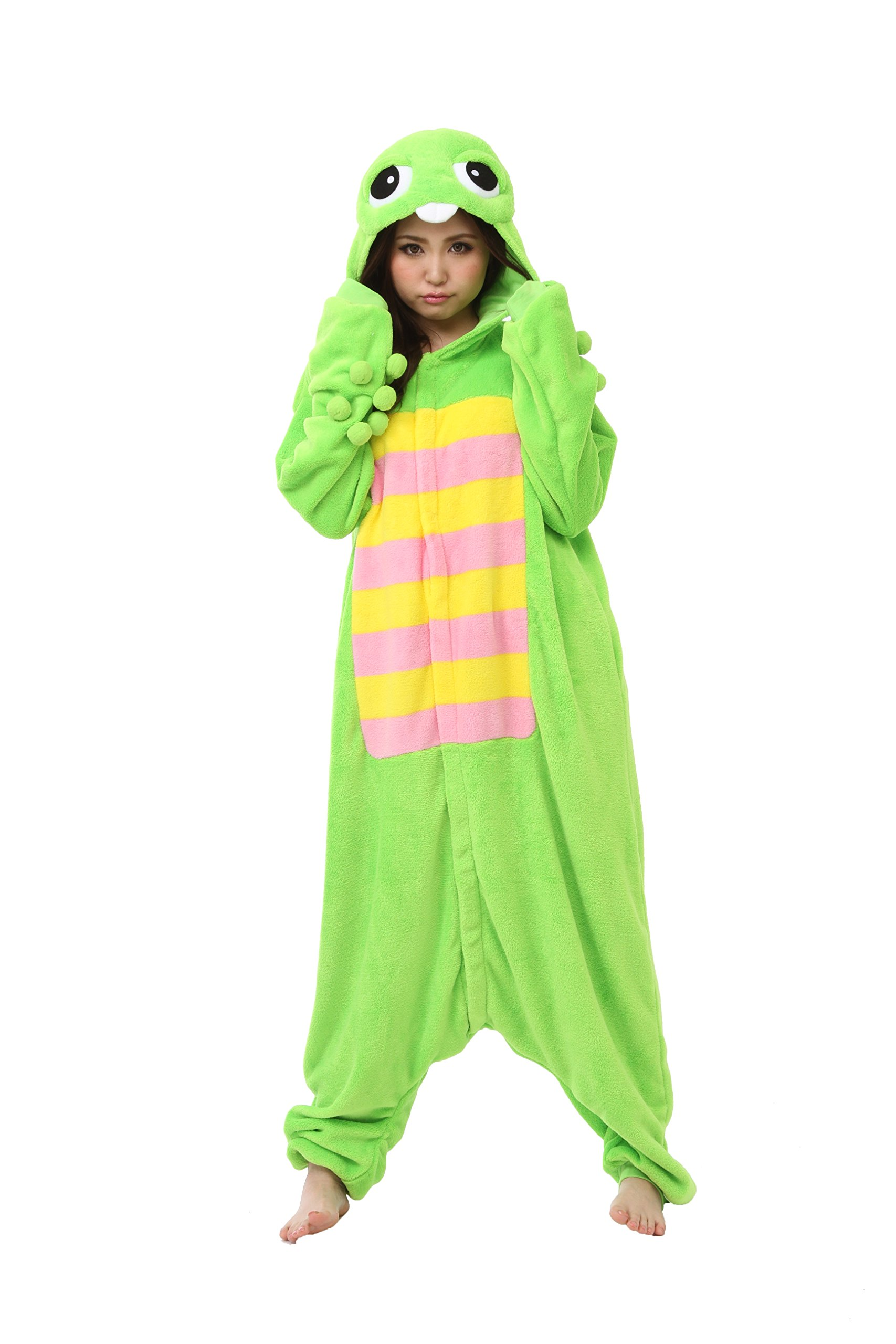 Gachapin Kigurumi - Adults Costume