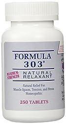 Formula 303 Maximum Strength Natural Relaxant