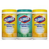 Clorox Disinfecting Wipes Value Pack, Scented, 225 Count