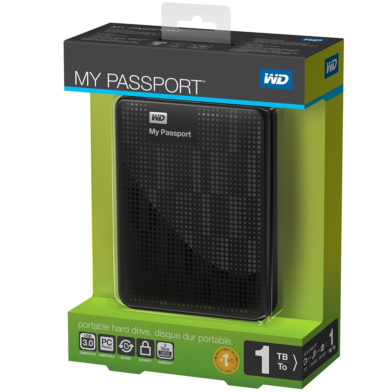 1TB Western Digital My Passport USB 3.0