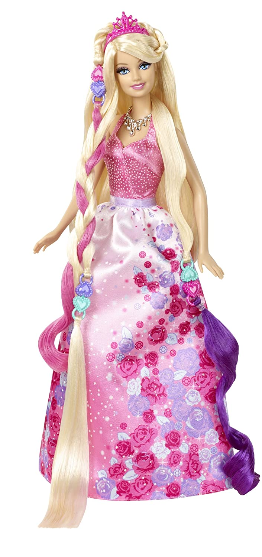Barbie Cut N Style Princess Doll