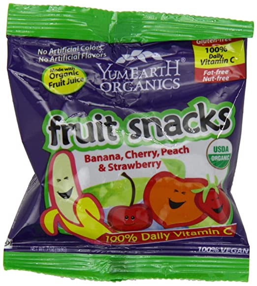 YumEarth Organic Fruit Snacks. 0.7 Ounce, 50 Count