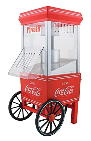 Nostalgia Electrics Coca-Cola Series OFP501COKE Hot Air Popcorn Maker