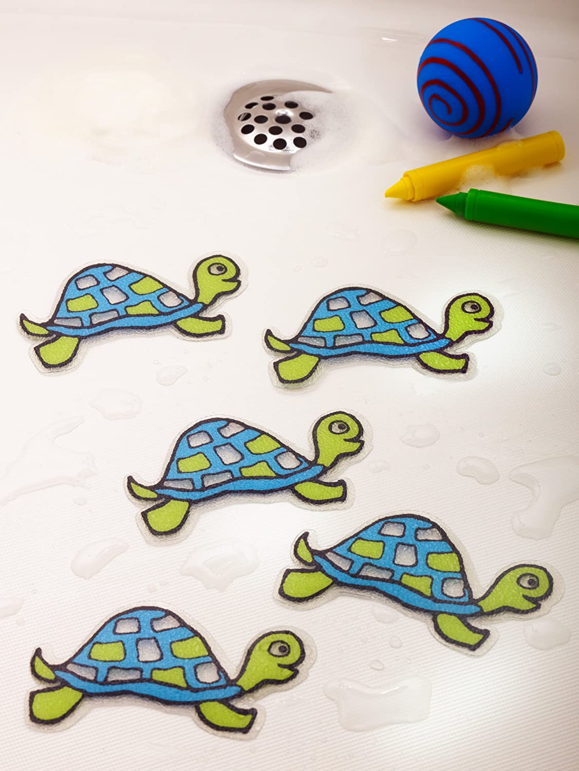 Non Slip Tub Tattoos Turtles