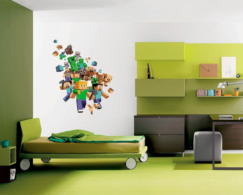 minecraft wall decal boys bedroom ideas pinterest on wall decals id=98100