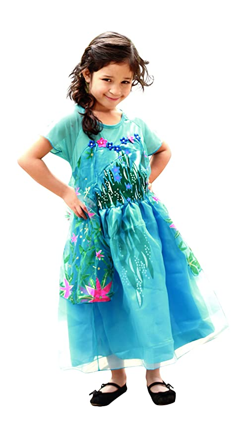 New Elsa Dress Snow Queen Princess Birthday Party Costume