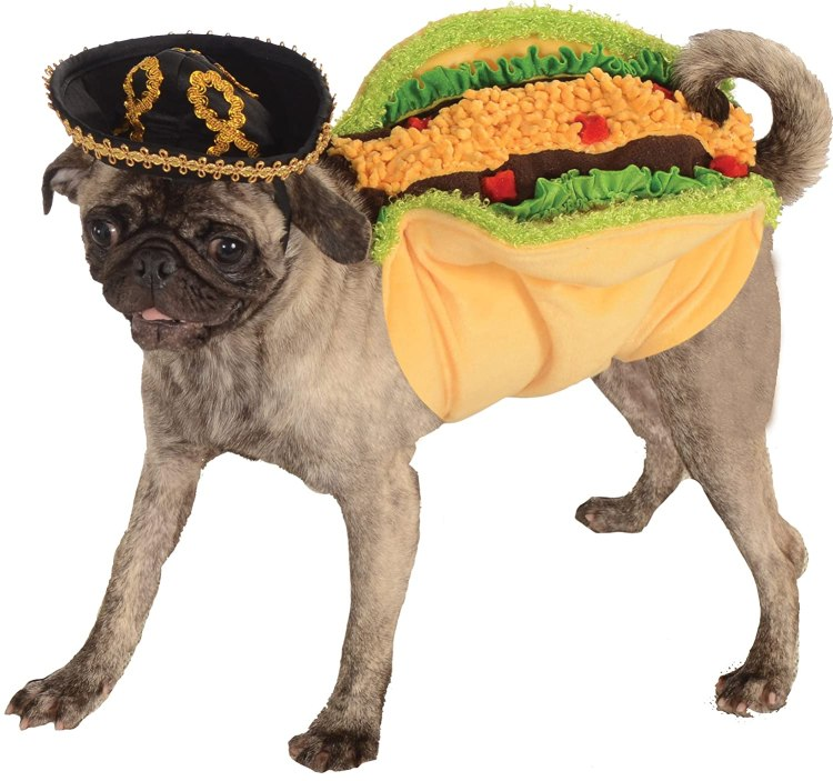 Taco Costume for Dogs