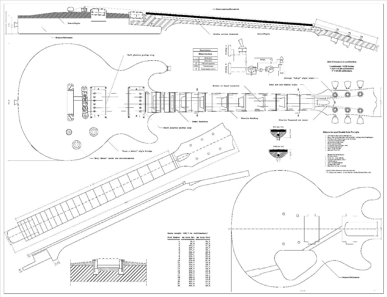 Prepared Guitar Building A Les Paul Guitar