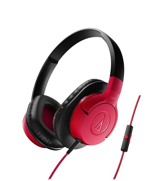 Audio Technica ATH-AX1iS RD Over-the-ear Headset