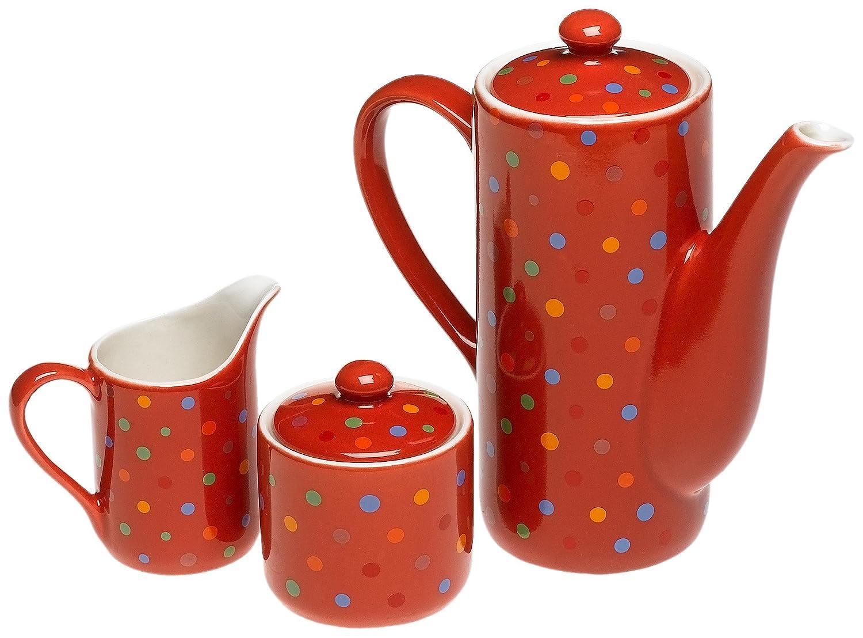 Yedi Polka Dot Coffee and Tea Set
