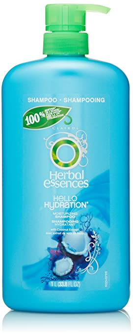 Herbal Essences Hello Hydration Moisturizing Shampoo 33.8 Fl Oz