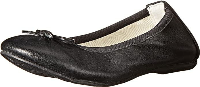 Primigi Kids Girl's Veridiana (Toddler/Little Kid) Black Flat 24 (US 7.5 Toddler) M