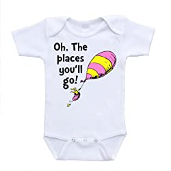 Oh the Places You'll Go Body Suit