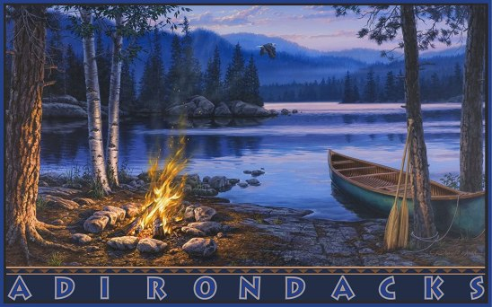 Gift ideas for canoers - Canoe art