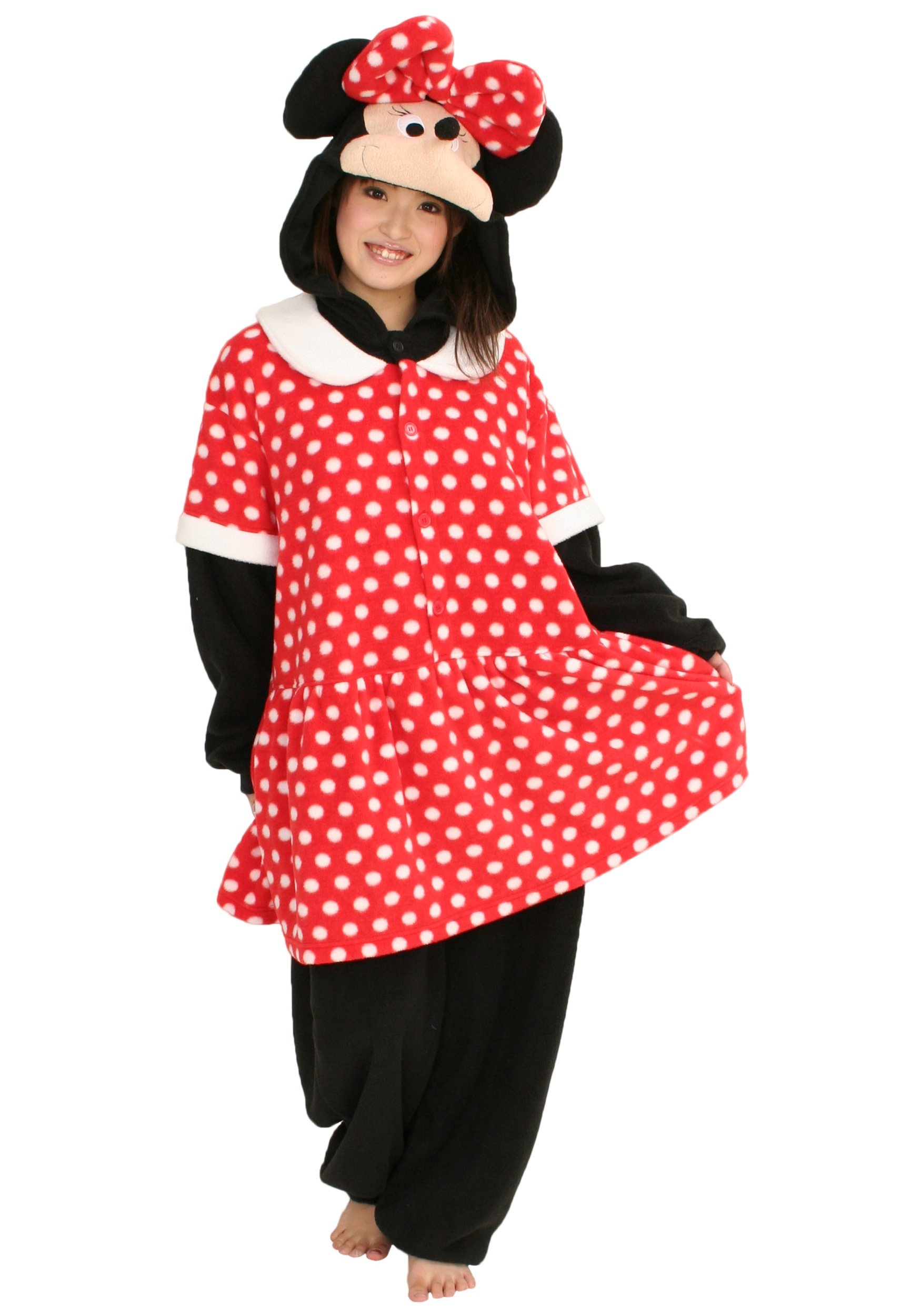 Minnie Mouse Pajama Costume  Kigu