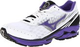 Mizuno Women's Wave Rider 16 Running Shoe,White/Ultraviolet,11.5 B US