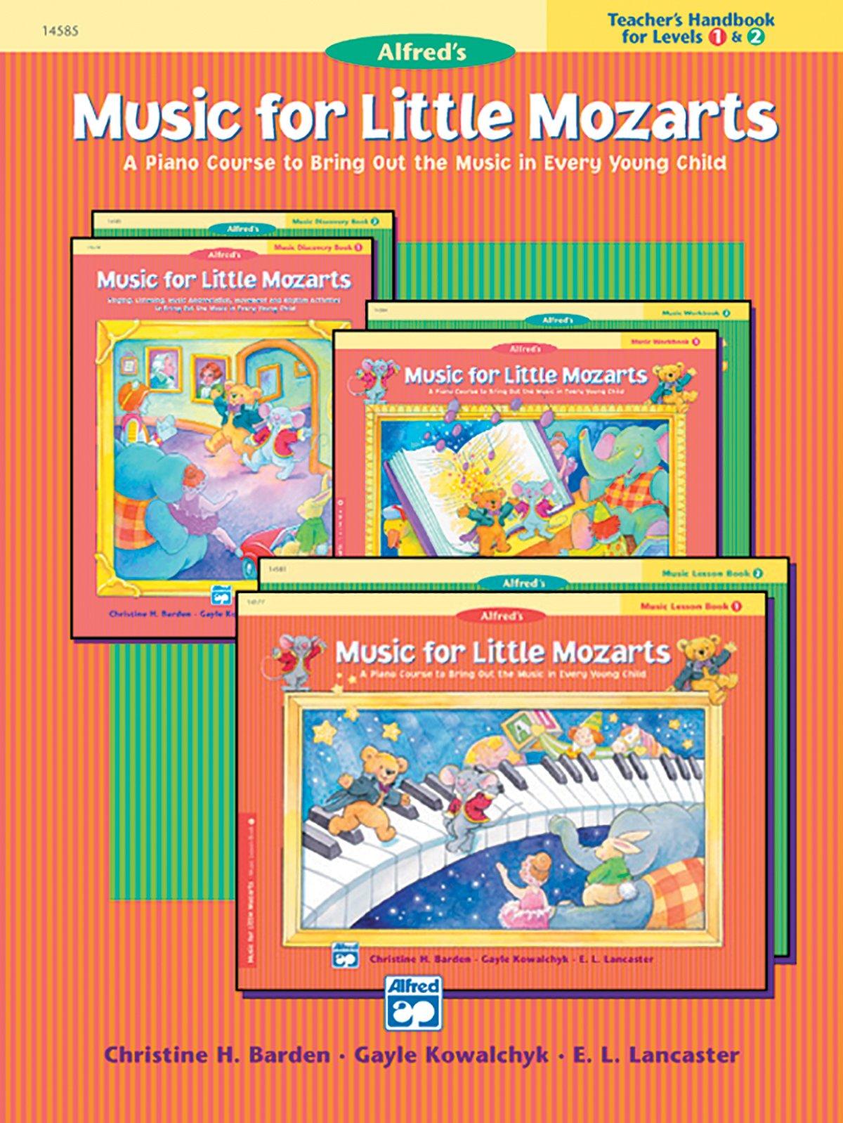 Music For Little Mozarts Teacher S Handbook Bk 1 Amp 2