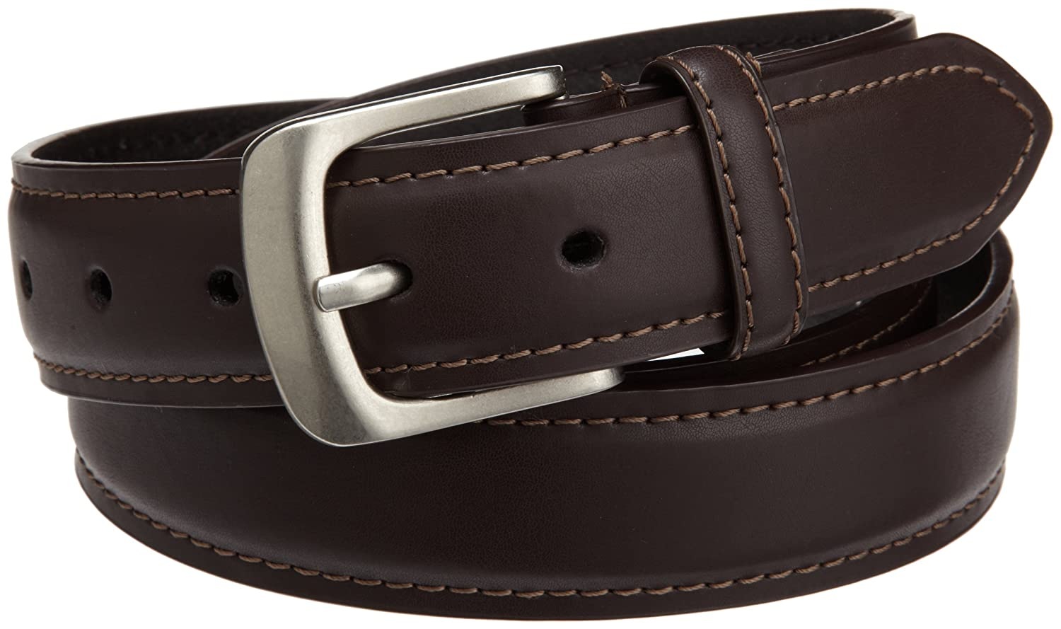 Dickies Mens 35mm Feather Edge Padded Leather Belt