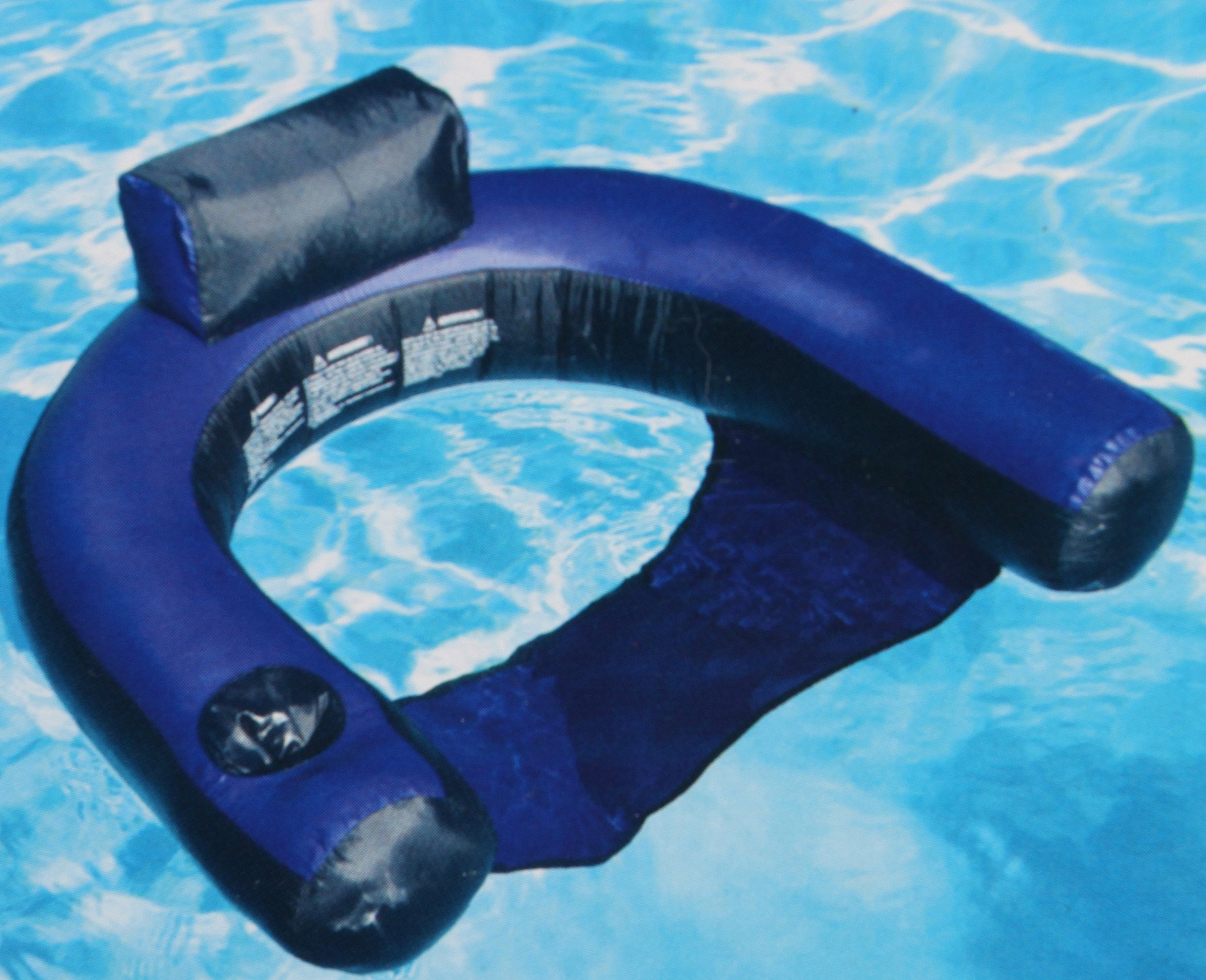 Swimline Fabric Covered Pool Inflatable Chair Lounger