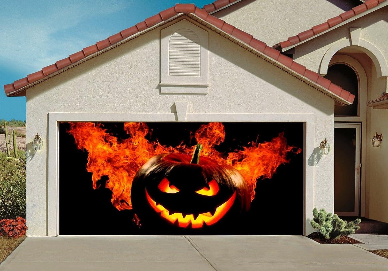 Halloween Garage Door Decorations | WebNuggetz.com on Garage Decoration  id=83998