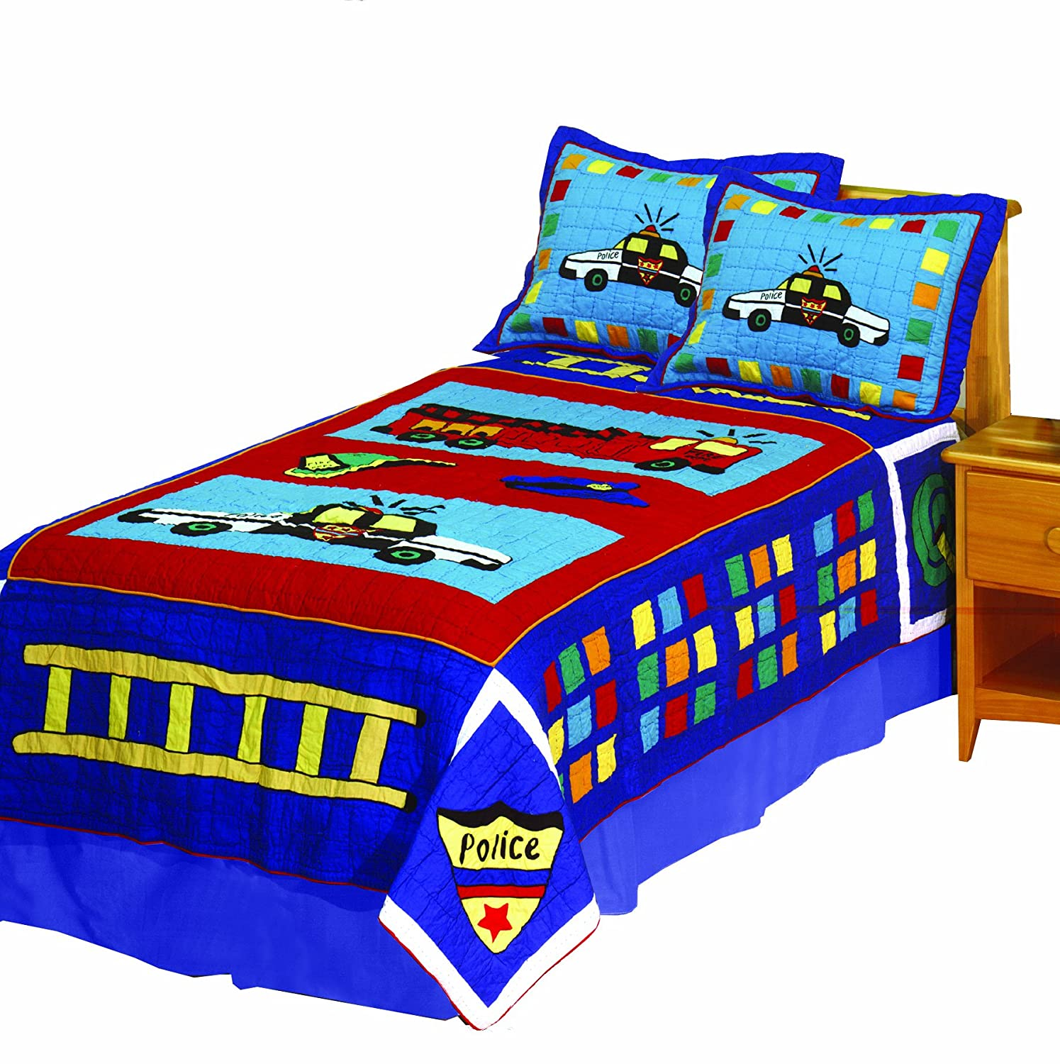 Kids Heroes 5-Piece Full/Queen Quilt Set