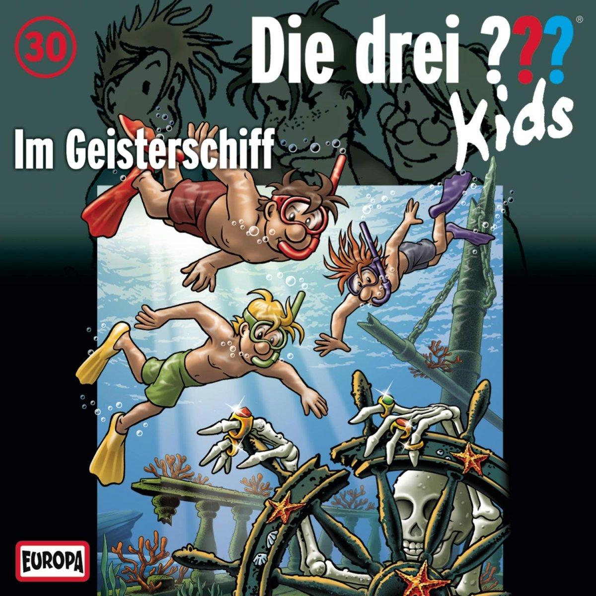 Die drei ??? Kids (30) im Geisterschiff (Europa)