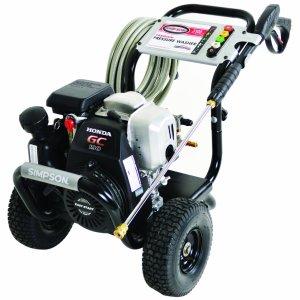 Simpson MSH3125-S MegaShot 3100 PSI 2.5 GPM Honda GCV190 Engine Gas Pressure Washer