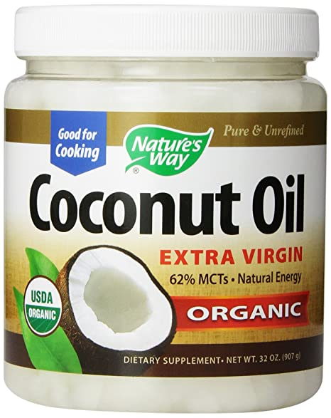 Nature's Way Extra Virgin Organic Coconut Oil, 32-Ounce